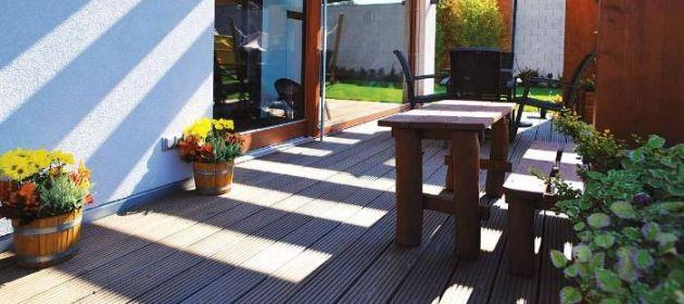 Dřevěné terasy s letní slevou